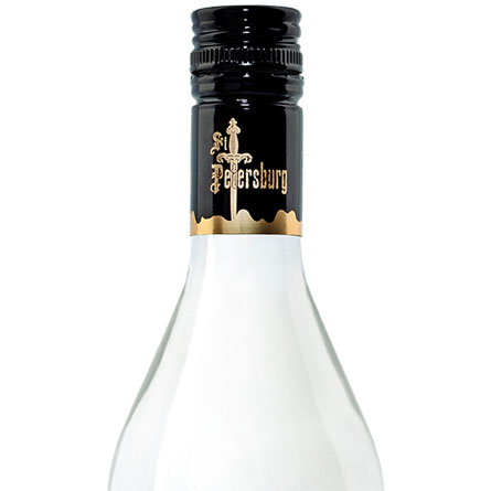 St. Petersburg Vodka Bottle Desktop